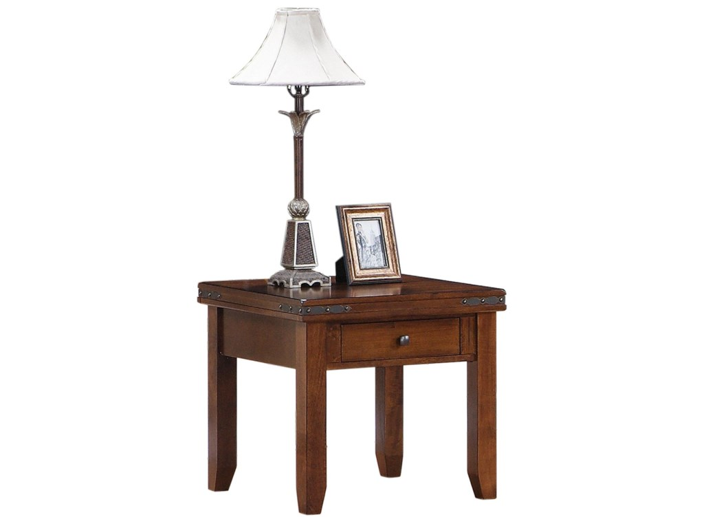 Morris Home Furnishings CoventryCoventry Square End Table