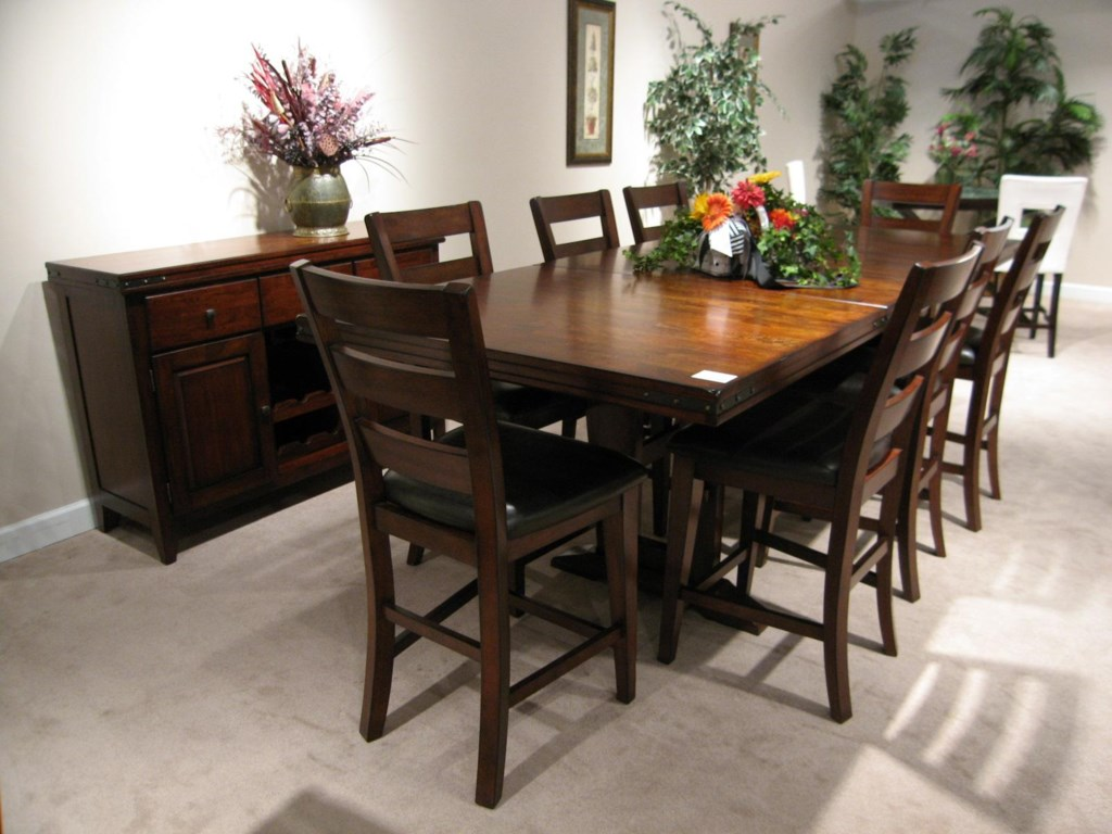 Shown with Sideboard and Rectangular Pub Table