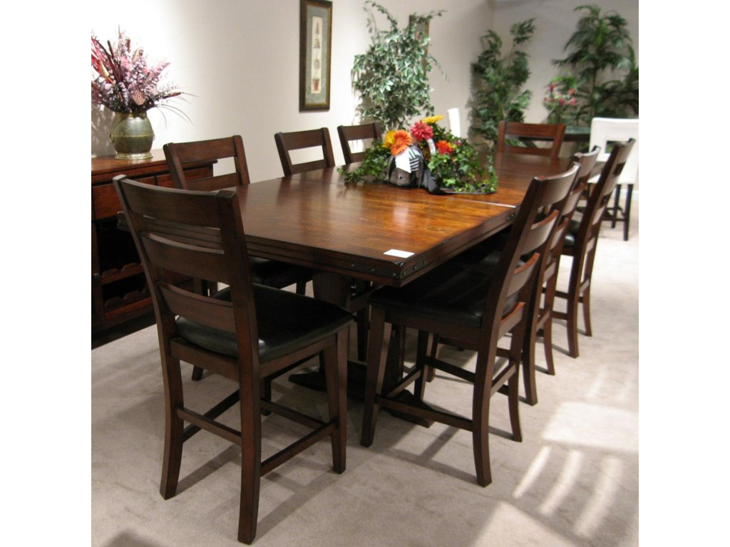 Home Dining Room Furniture Pub Table Layton Counter Hathaway LaytonLayton