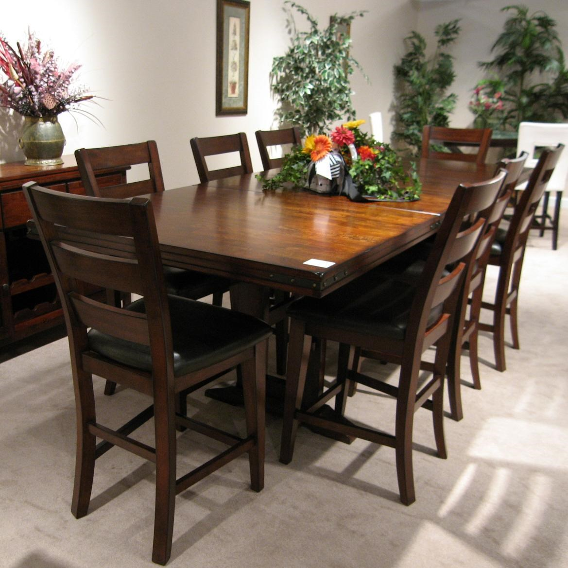 holland house 1268 casual 9 piece dining table and chair set holland house 1268 casual 9 piece dining table and chair set      rh   godbyhomefurnishings com