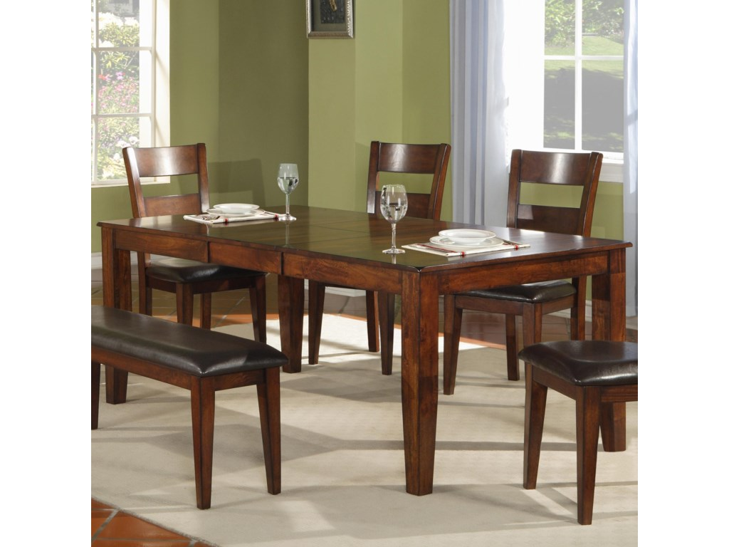 1279 modern solid mango wood dining table by warehouse m