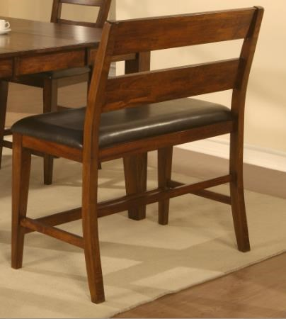 Holland House 1279 Hi Back Counter Height Dining Bench