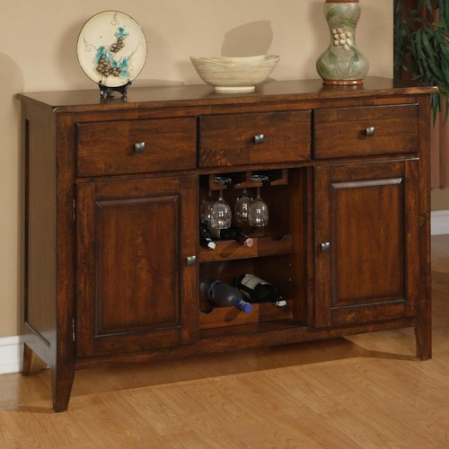 Holland House 1279 Mango Wood Dining Room Sideboard