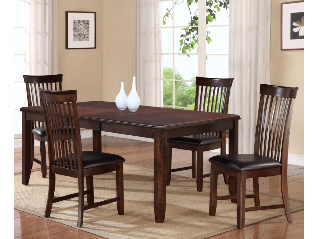 Holland House 190035-Piece Dining Table Set