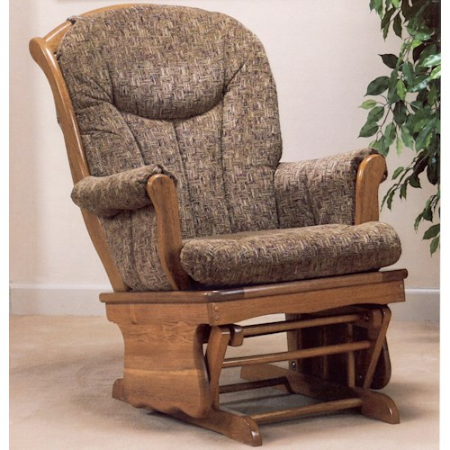 Holland House 5891 Casual Glider Rocker