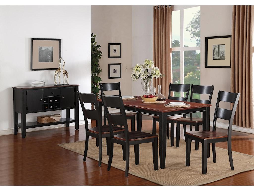 Holland House 8202Leg Table