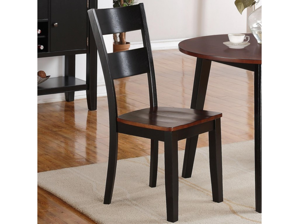 Holland House 8202Ladderback Side Chair