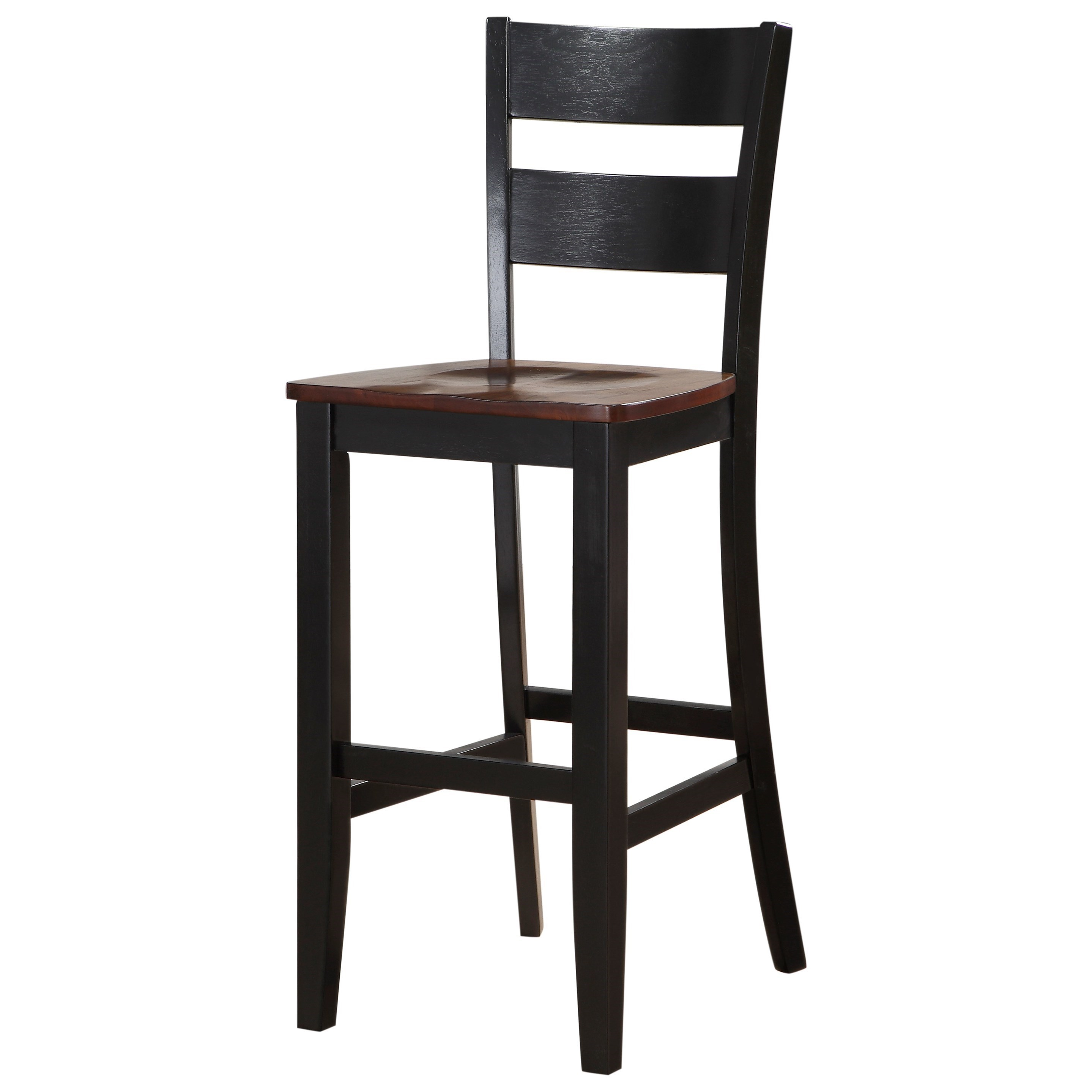 8202 Bar Height Pub Chair With Tapered Legs By Holland House