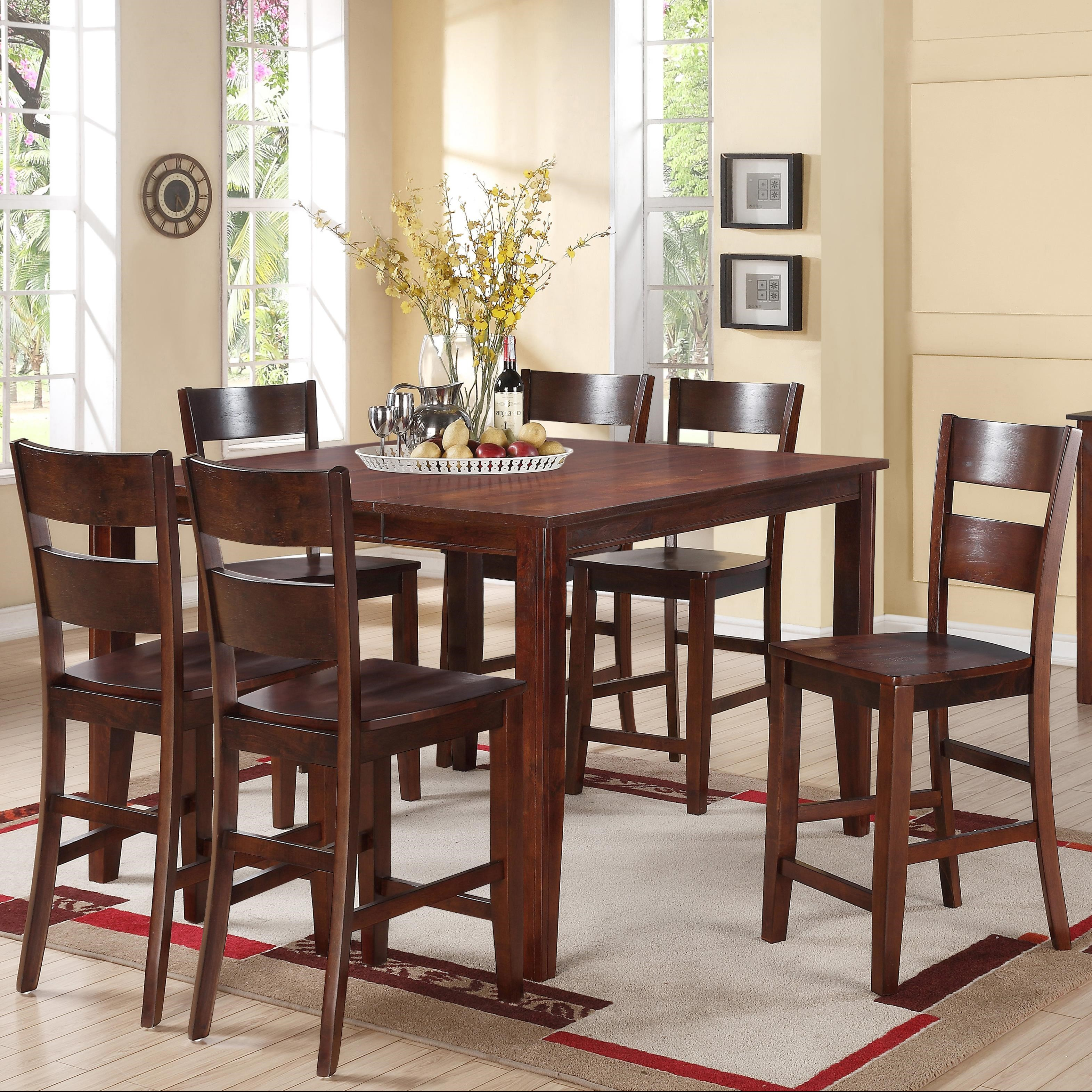 Delightful Holland House 82037 Piece Counter Height Dining Set ...
