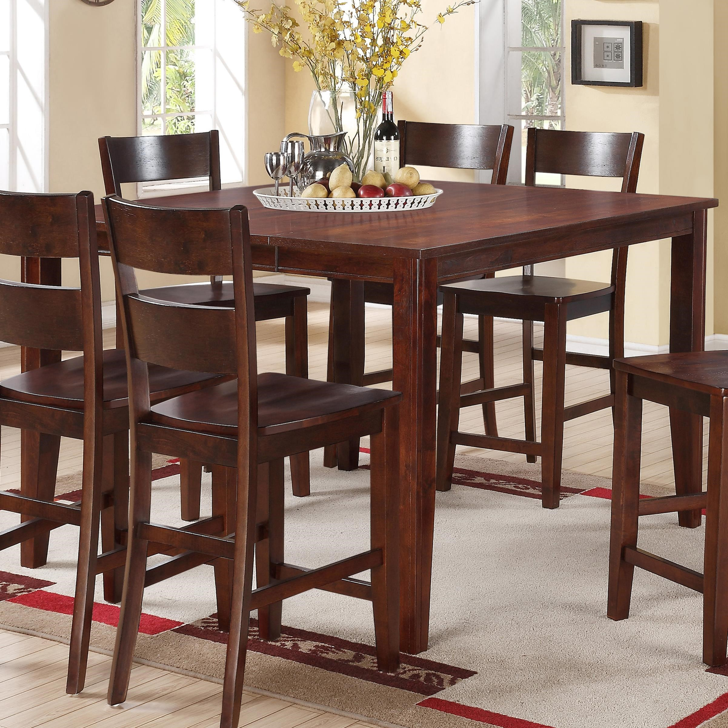 Holland House 8203Square Counter Height Pub Table ...