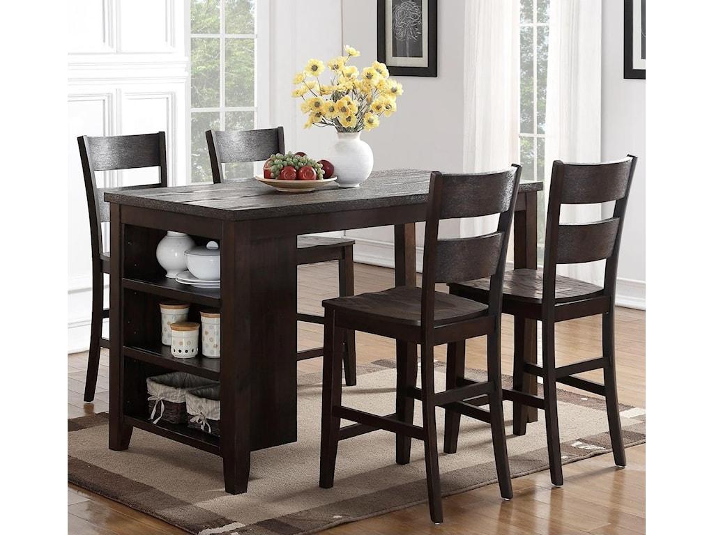 Holland House 82045-Piece Island Table Set