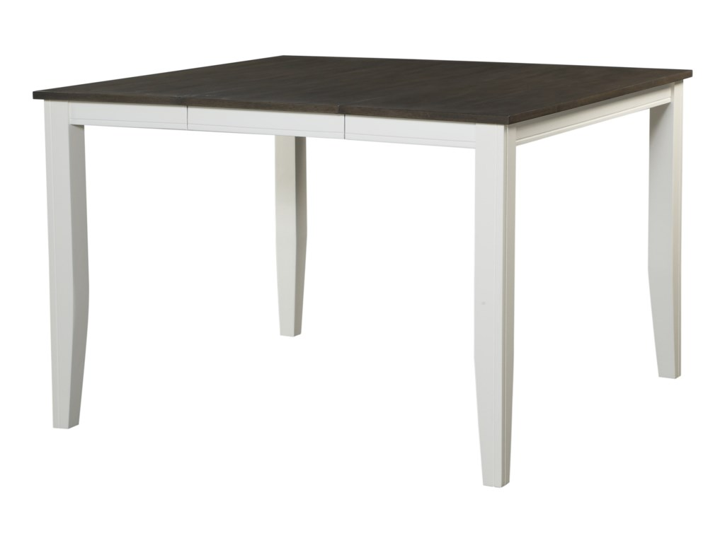 Hathaway Carey WhiteSquare Counter Height Pub Table