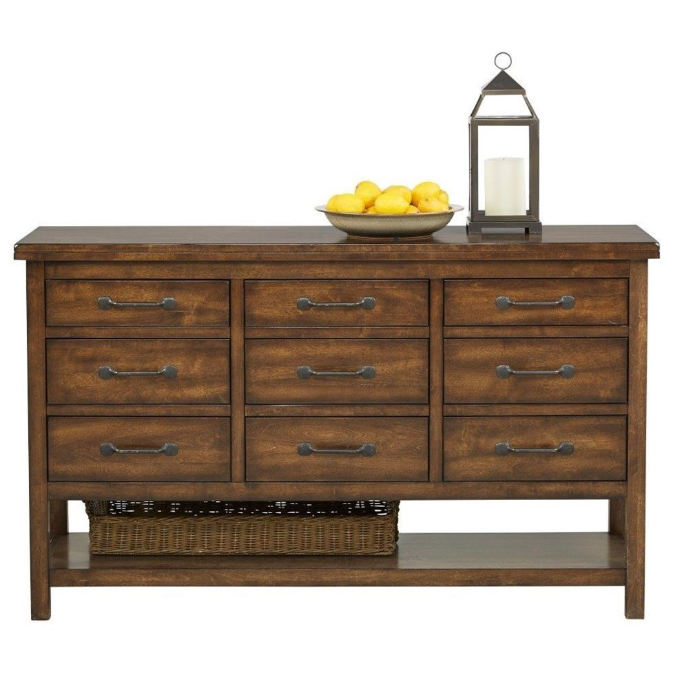 9108 Server With 9 Drawers And 1 Shelf By Holland House