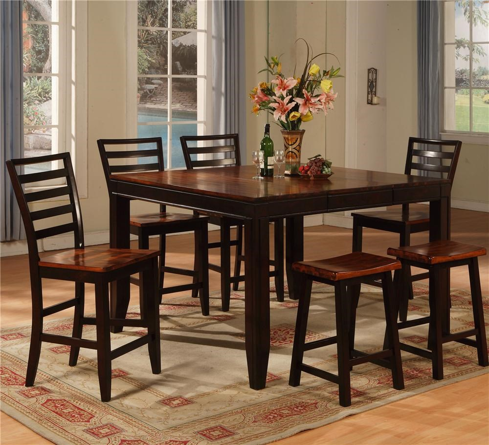 Holland House Adaptable Dining 7 Piece Casual Dining Set  : products2Fhollandhouse2Fcolor2Fadaptable20dining1267 tpb54542B4xcpb553 s2B2xtpb665 s bjpgscalebothampwidth500ampheight500ampfsharpen25ampdown from www.godbyhomefurnishings.com size 500 x 500 jpeg 71kB