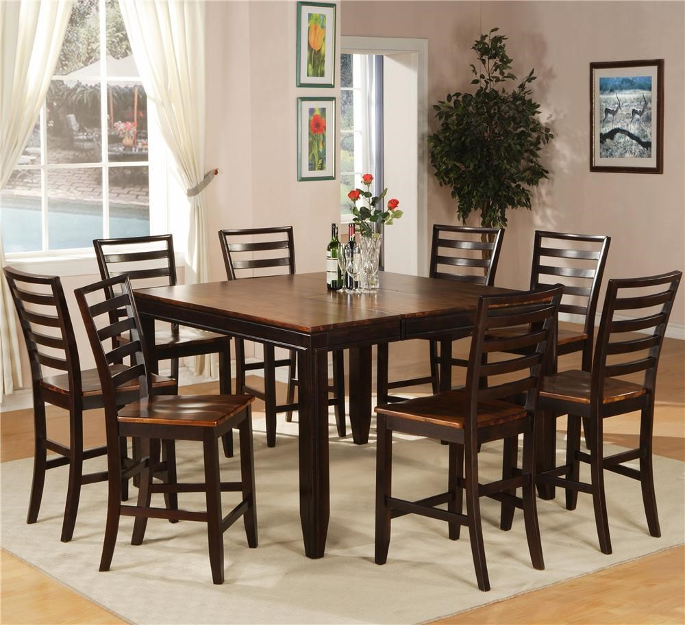 Etonnant Holland House Adaptable Dining 9 Piece Casual Dining Set