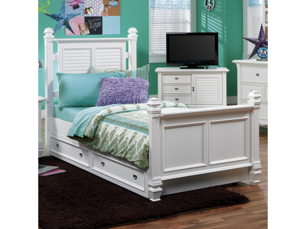 Holland House Belmar YouthFull Poster Bed