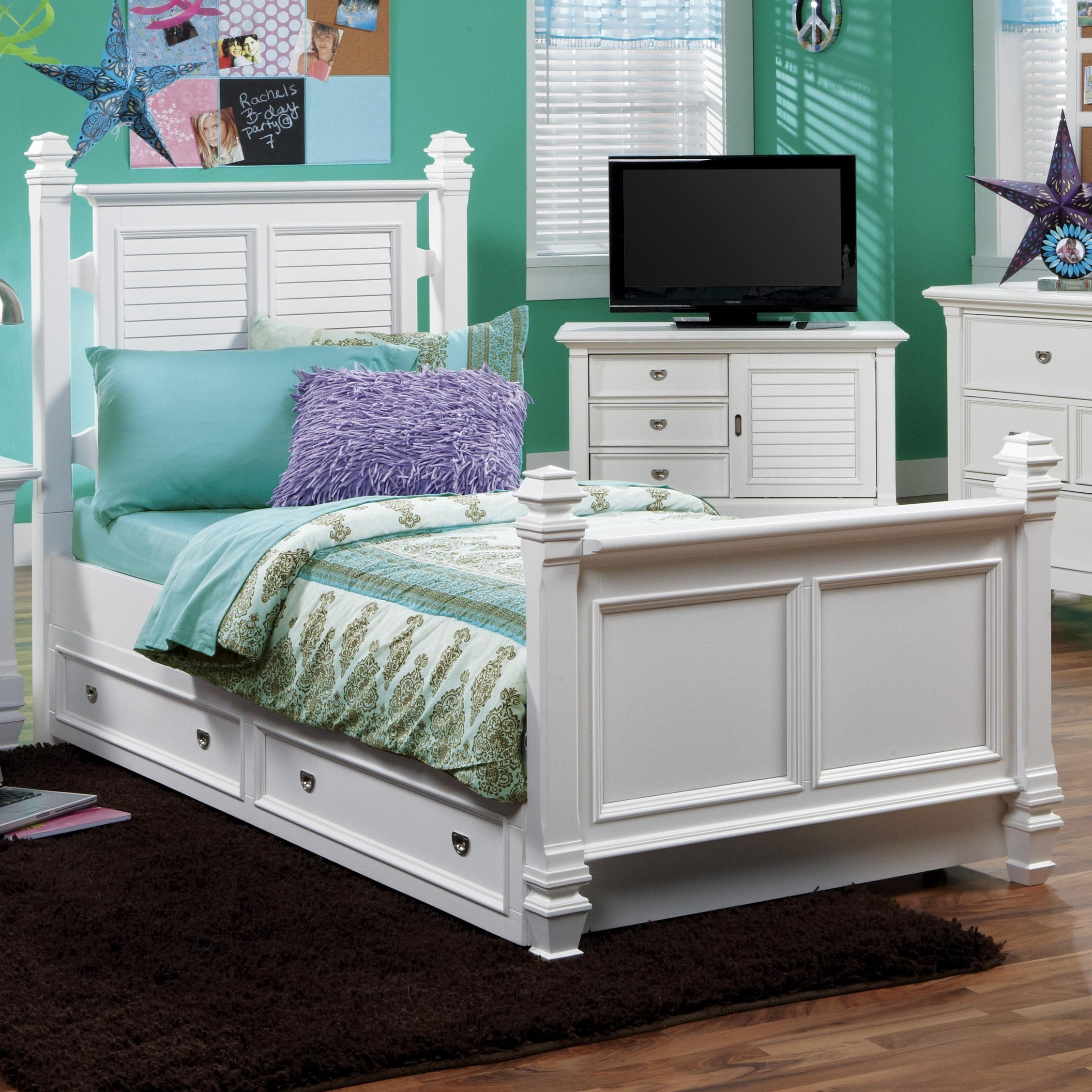 Beau Holland House Belmar YouthTwin Poster Bed