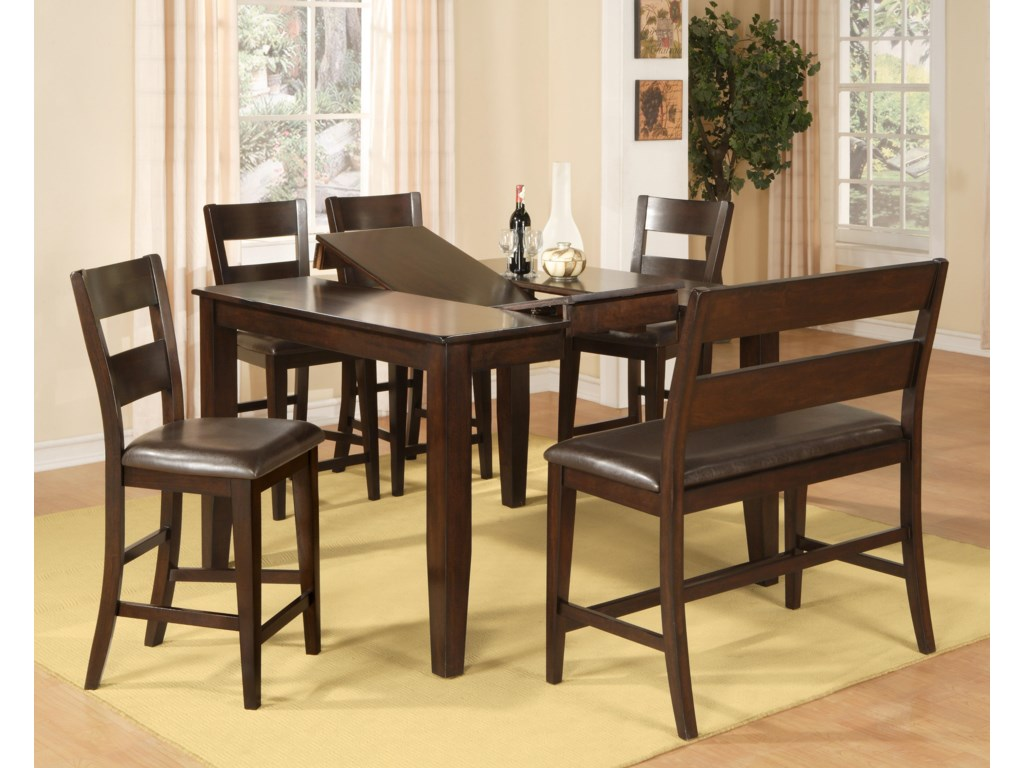 Holland House BendPub Table with 18