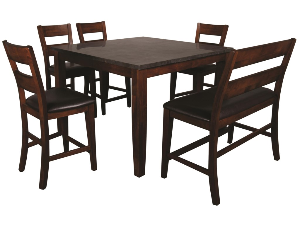 Melbourne Melbourne 6-Piece Pub Set