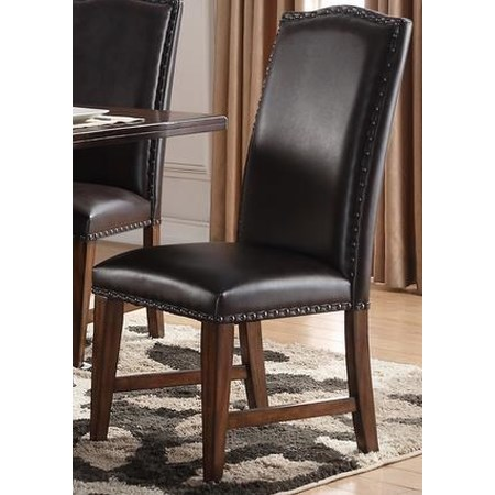 Creston Leather Side Chair