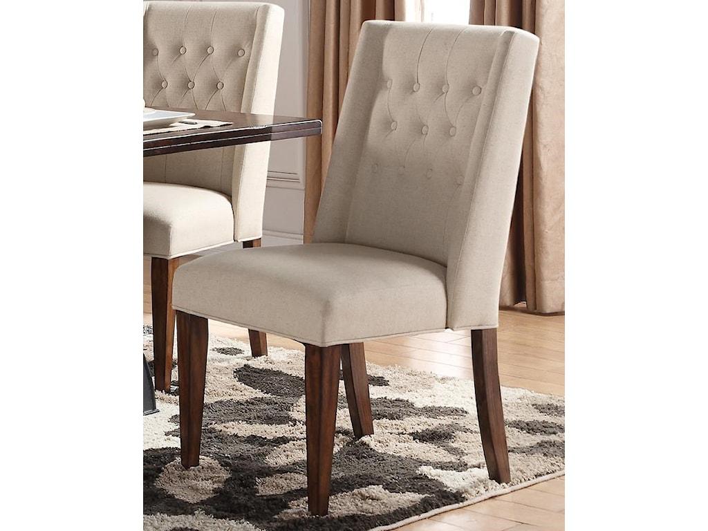 Morris Home Furnishings CrestonCreston Upholstered Parsons Chair