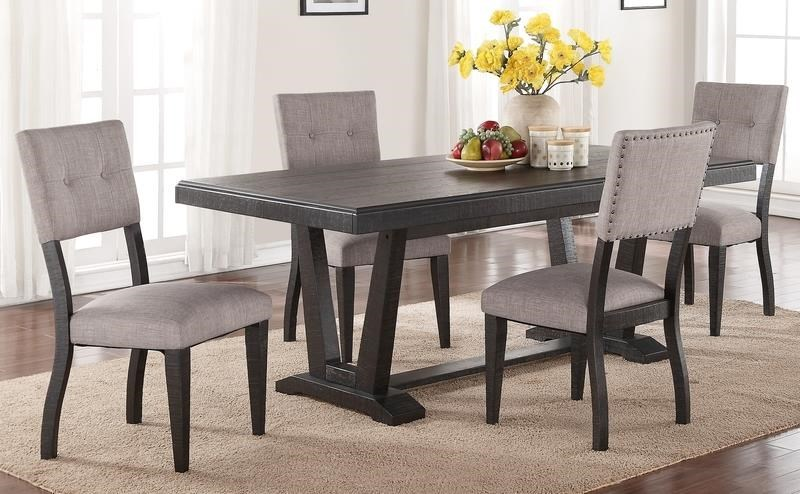 Forest Place 5 Piece Dining Set Includes Table And 4 Side Chairs   Morris  Home   Dining 5 Piece Sets