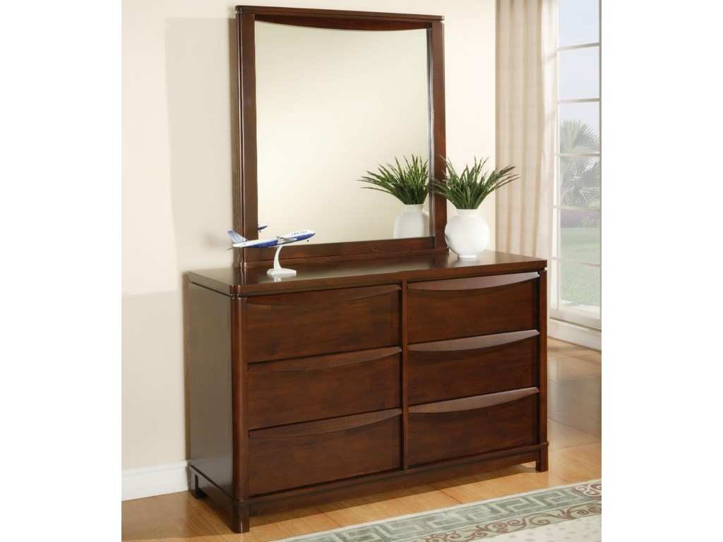 Shown with Optional Dresser Mirror