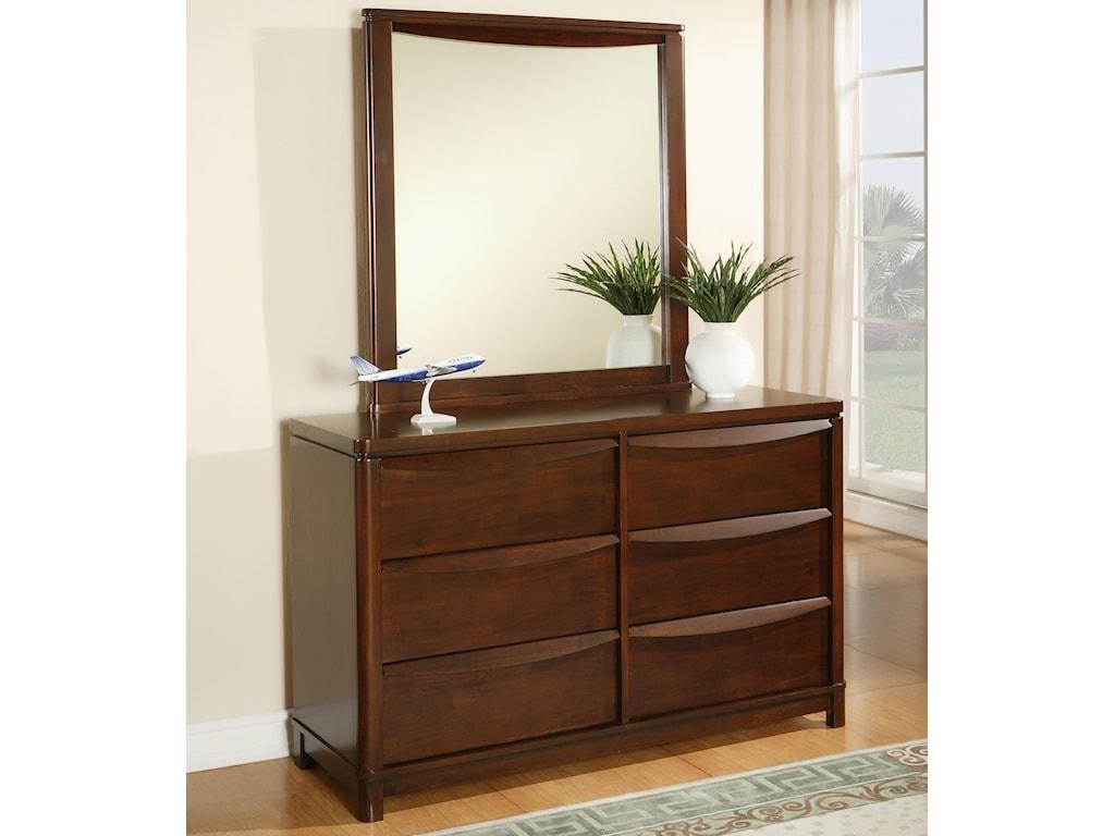 Morris Home Furnishings GranadaGranada Mirror