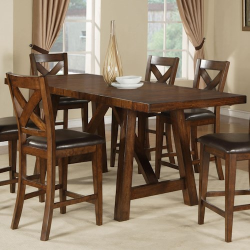 Holland House Lakeshore Colonial Pub Table W 2 Leaves