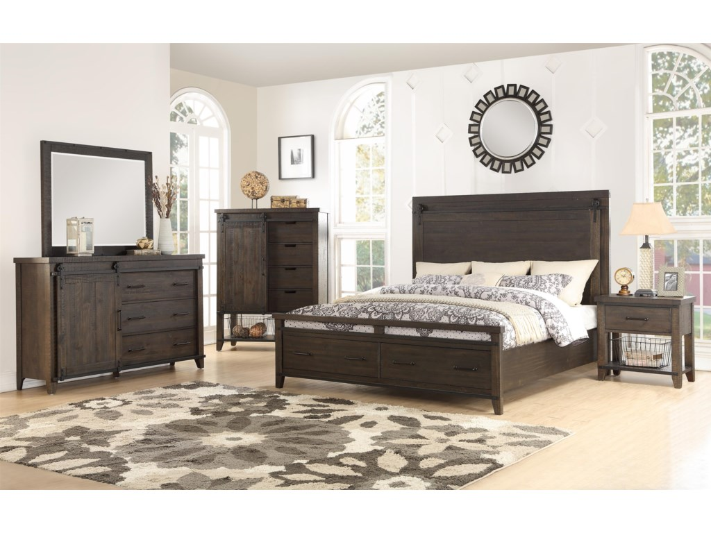 Hathaway DurangoQueen Bedroom Group
