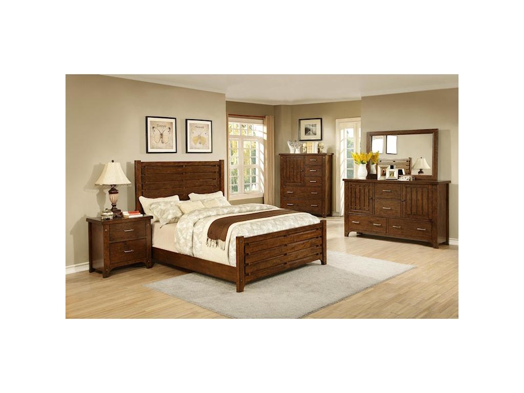 Morris Home Furnishings Boulder CreekBoulder Creek Slat Drawer Dresser