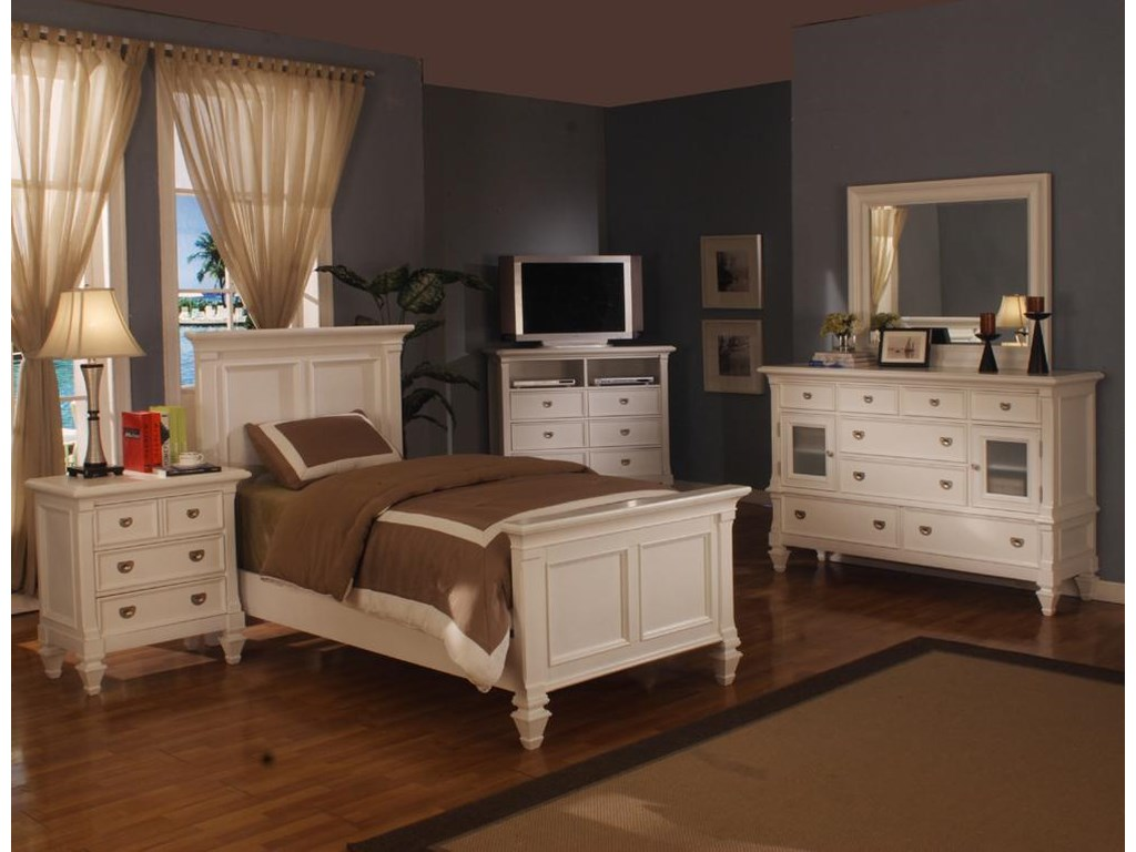 Holland House Summer BreezeTwin Panel Bed