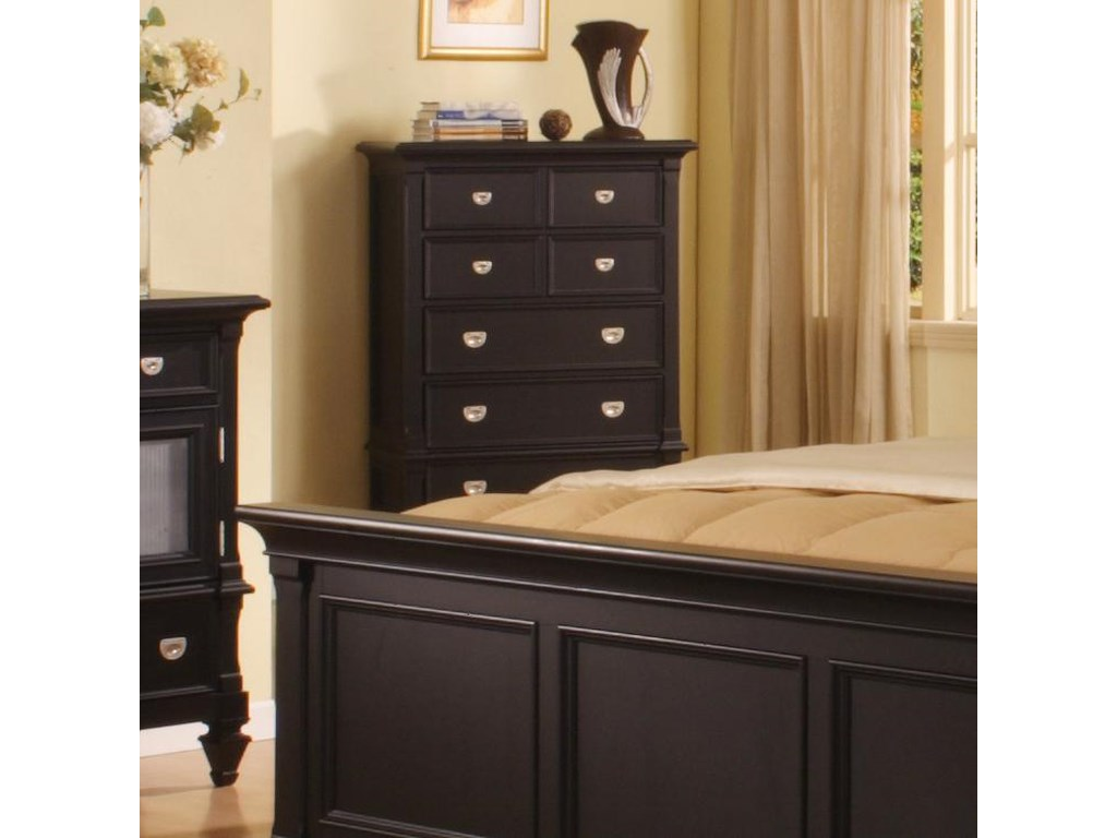 purchase cheap 2331c b791b Surrey 5 Drawer Chest by Holland House at Morris Home