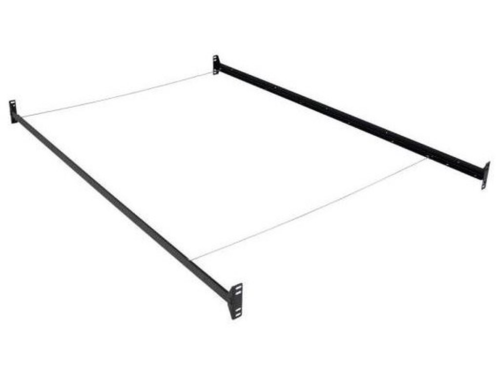 Hollywood Bed Frame Company Bolt On Bed RailsTwin Full Rails