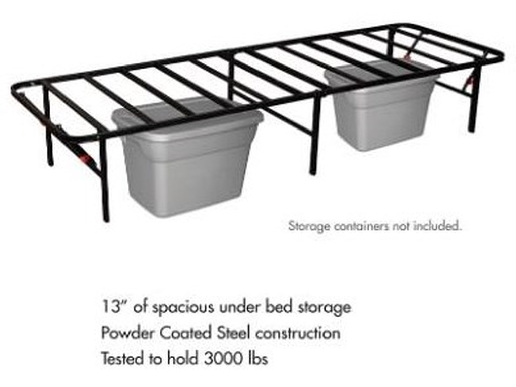 Hollywood Bed Frame Company The Bedder BaseTwin Bed Frame