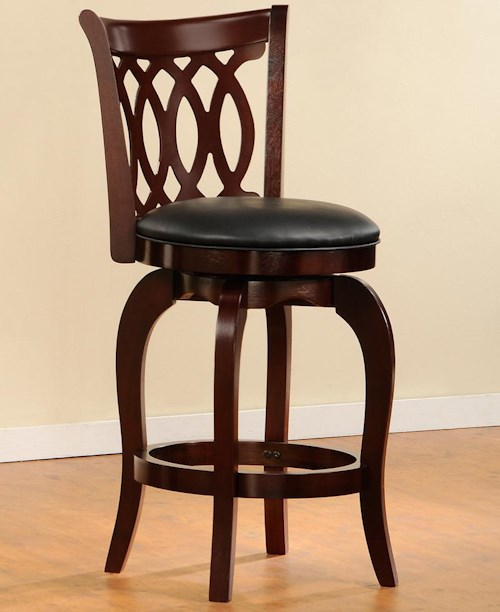 Homelegance (Clackamas Only) 1133 Swivel Counter Stool