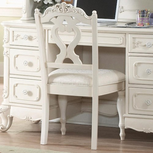 Homelegance 1386 Victorian Youth Desk Chair