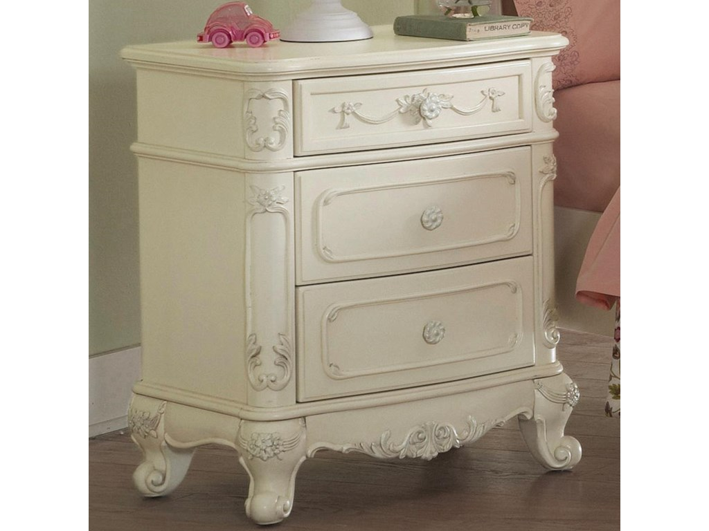 Homelegance 13863 Drawer Nightstand