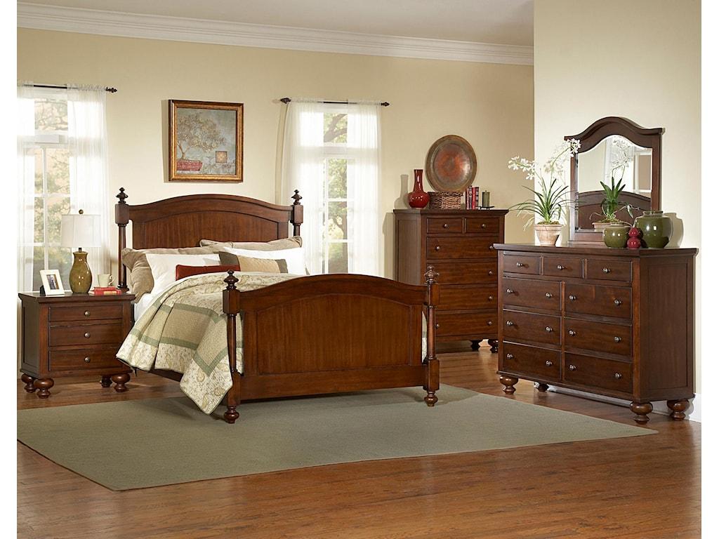 Homelegance 1422Queen Headboard & Footboard Bed