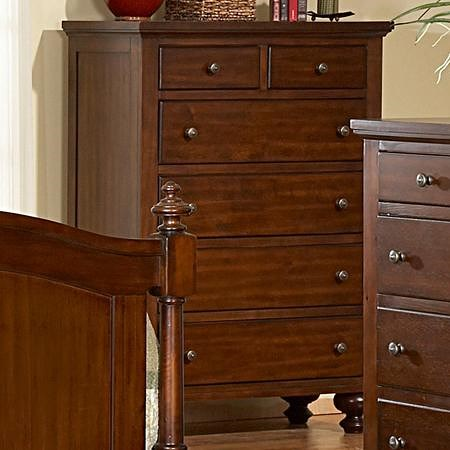 Homelegance (Clackamas Only) 1422 6 Drawer Chest
