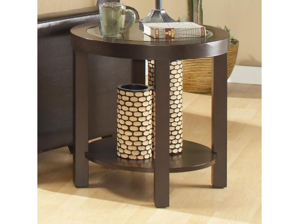 Elegance 3219Round End Table