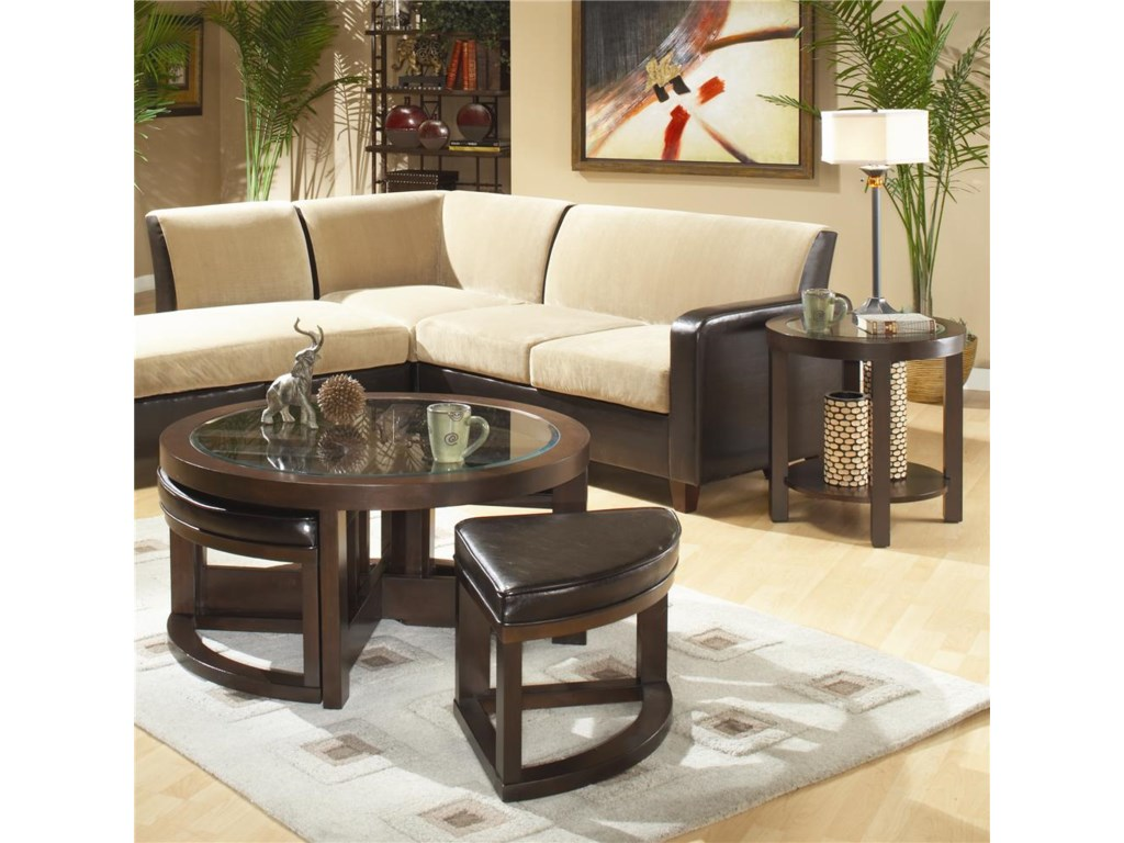 Shown with coordinating end table