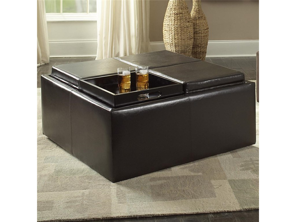 Homelegance 468Cocktail Ottoman
