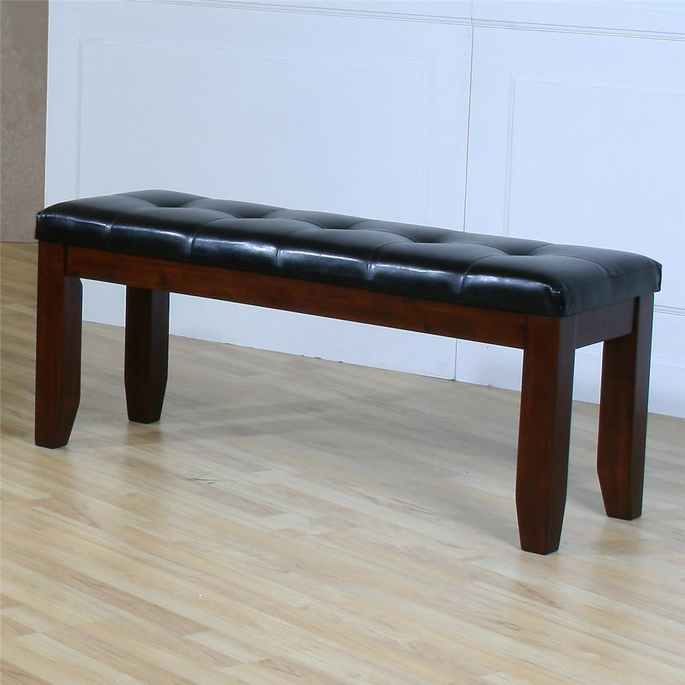 Homelegance Ameillia 48 Upholstered Seat Bench Value City