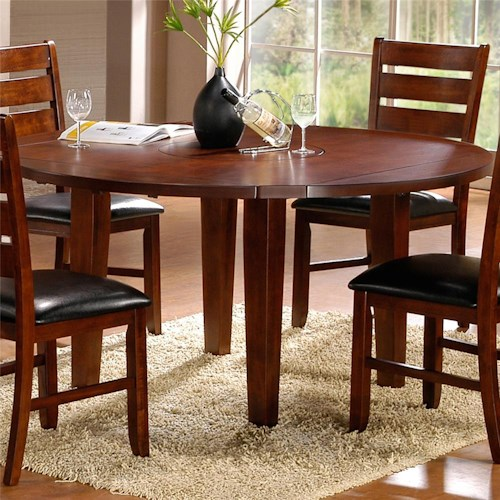 Homelegance Ameillia Round  Four Drop Leaf Table