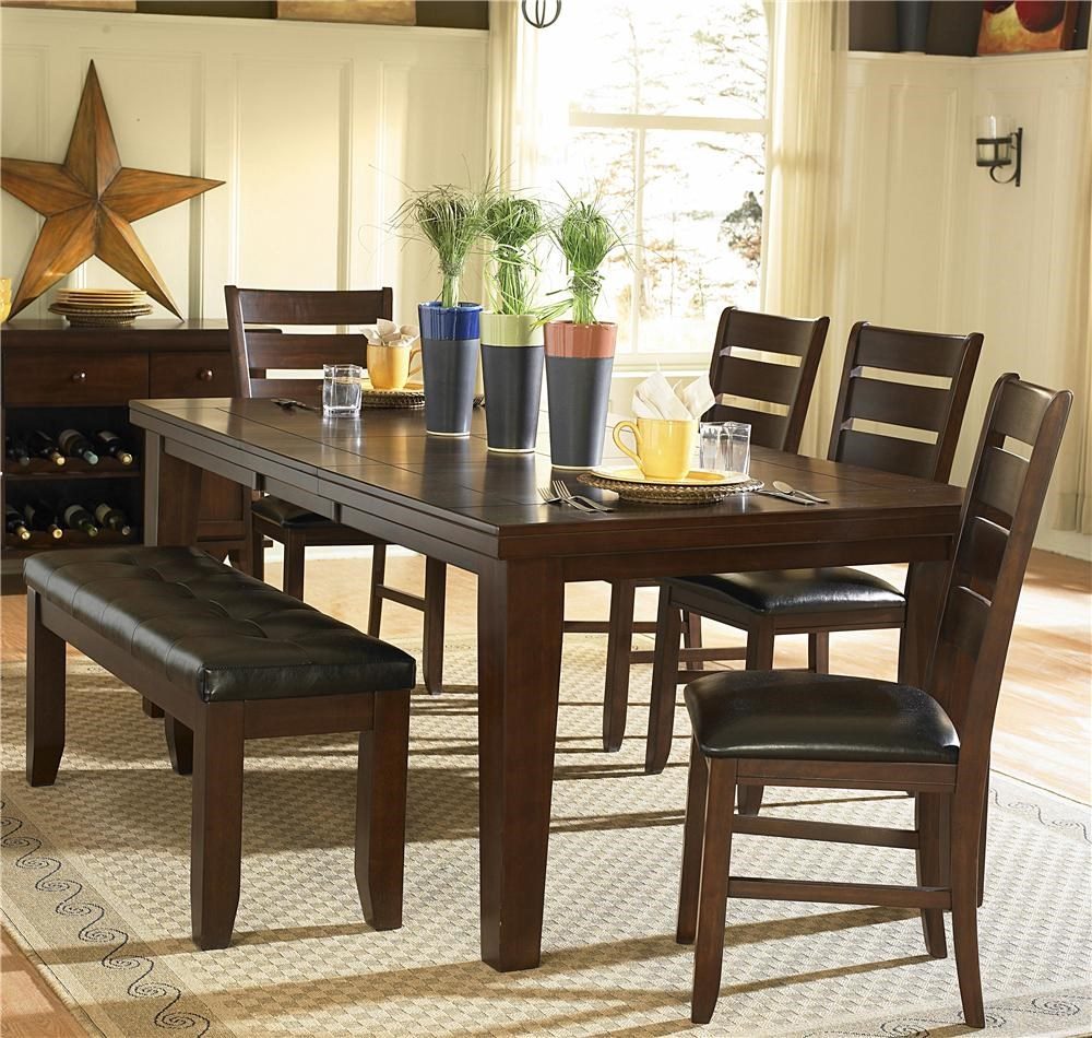 Ordinaire Homelegance Ameillia Six Piece Dining Set With Bench