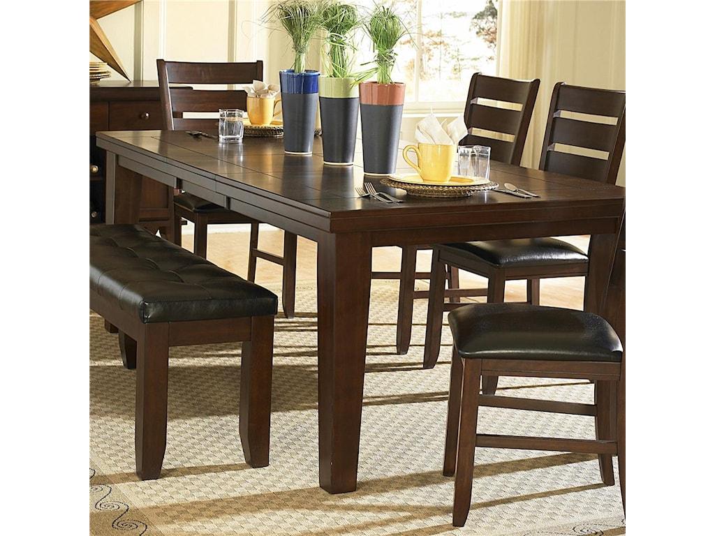 Homelegance AmeilliaDining Table, Dark Oak Finish