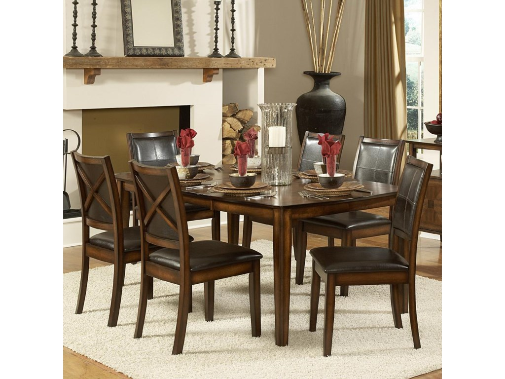 Homelegance Verona7-Piece Dining Table Set