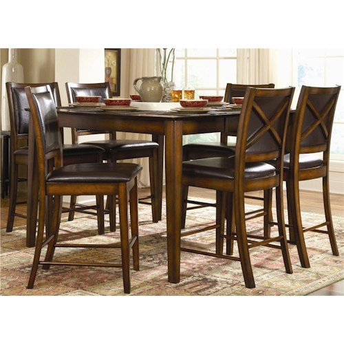 Homelegance Verona 7Pc Counter Height Dinette
