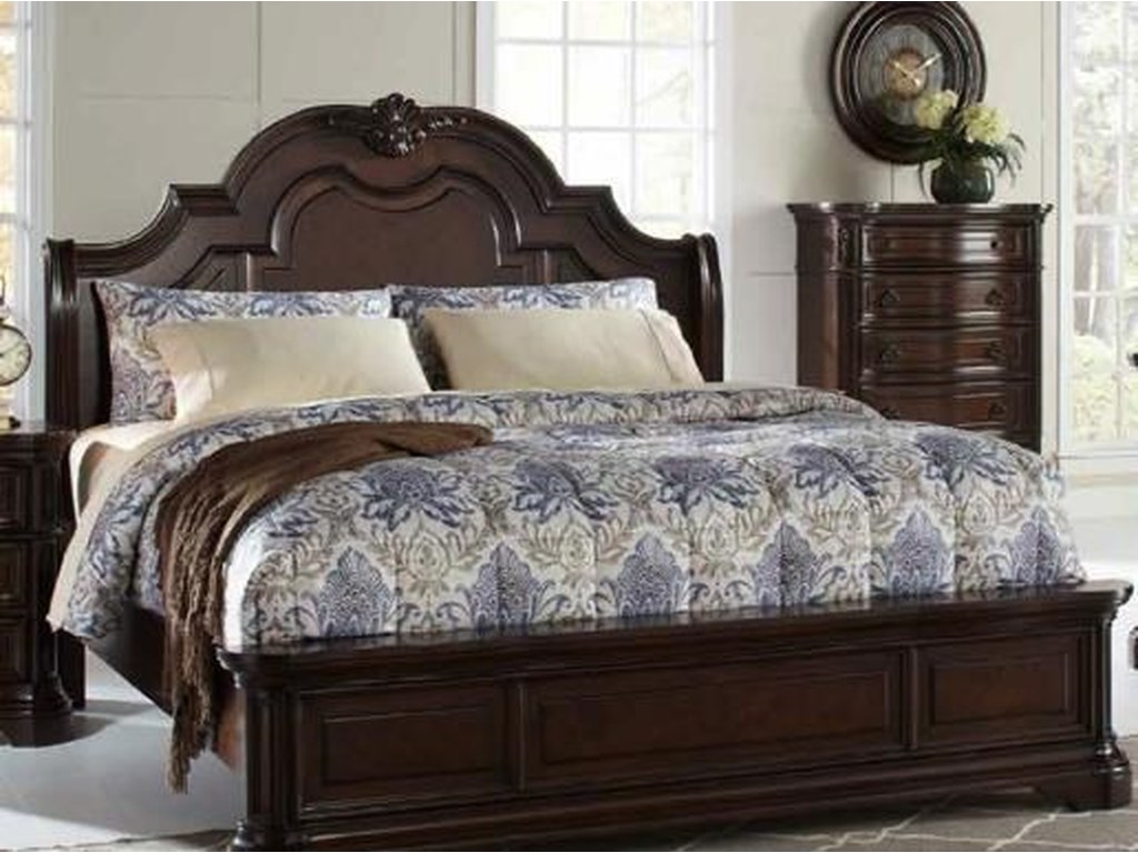 Home Insights AlexandriaKing Sleigh Bed